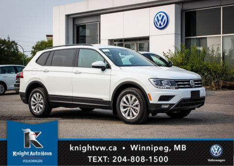 New 2018 Volkswagen Tiguan Trendline w/ Backup Camera