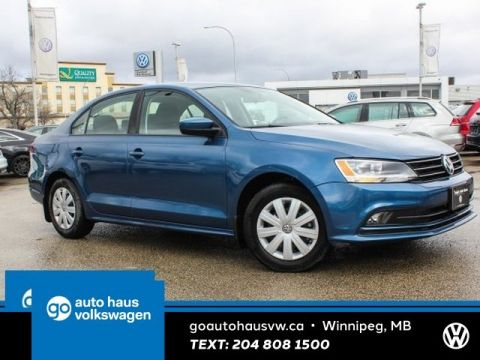 Certified Pre-Owned 2017 Volkswagen Jetta Sedan Trendline+ w/ App Connect 0.9% Financing Available OAC.